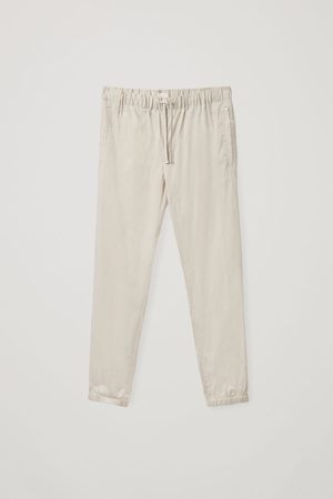 COS Men Relaxed Fit - RELAXED-FIT CUFFED PANTS