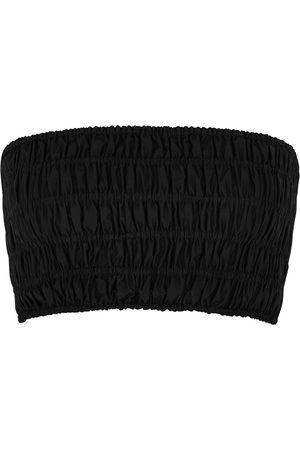 MATTEAU Women Swimwear - The Shirred cotton bandeau top