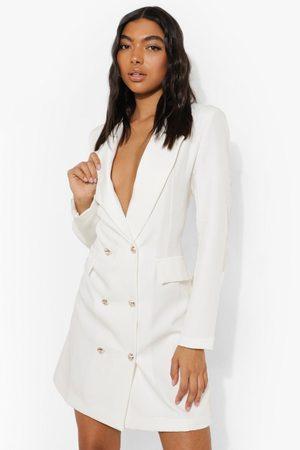 Boohoo Womens Tall Blazer Dress - - 2
