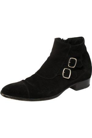 Saint Laurent Saint Laurent Suede Ankle Boots Size 42