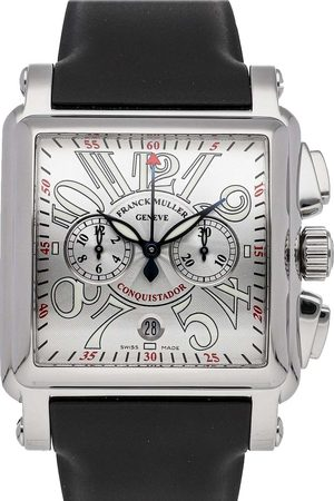 FRANCK MULLER Men Watches - Stainless Steel Cortez Conquistador Chronograph 10000HCCACE Men's Wristwatch 46 MM