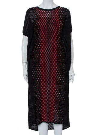 M Missoni Patterned Knit Oversized Midi Dress M