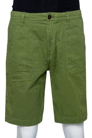 Burberry Brit Denim Cargo Pocket Detail Shorts XL