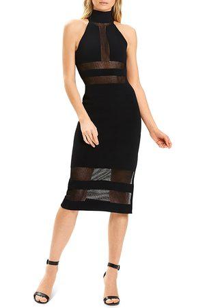Hervé Léger Women Halterneck Dresses - Halter Column Dress