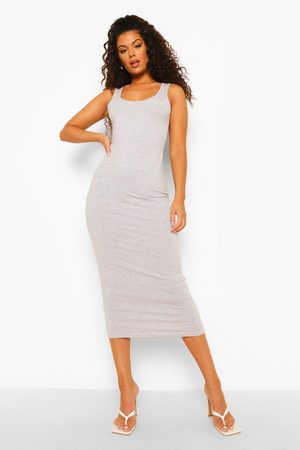 Boohoo Womens Sleeveless Bodycon Midaxi Dress - - 4