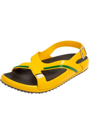 Prada Rubber Slingback Sandals Size 43