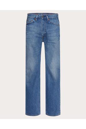 VALENTINO Men Pants - Levi's® X Valentino Man Navy Cotton 100% 28