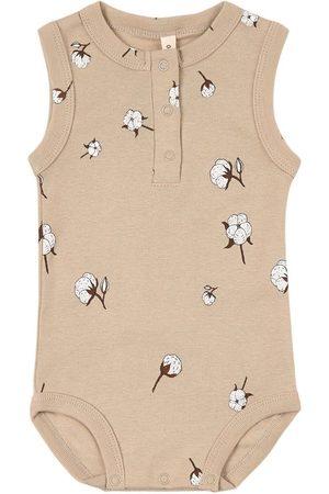 Organic Zoo Cottonfield Sleeveless Bodysuit - Unisex - 0-3 Months - - Baby bodies