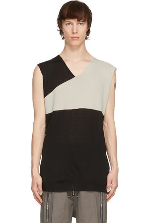 Rick Owens And Grey Slip Over Tank Top