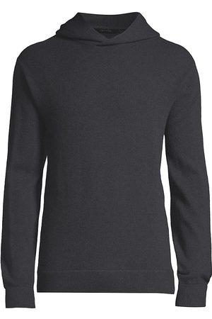 GREYSON Men's Koko Wool & Cashmere Hoodie - Dark Grey - Size Large