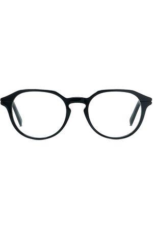 Dior Men's Essentialo 51MM Round Eyeglasses - Shiny