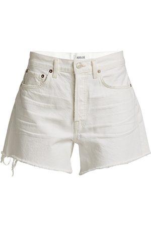 AGOLDE Women's Parker Long Shorts - Pannacotta - Size 28