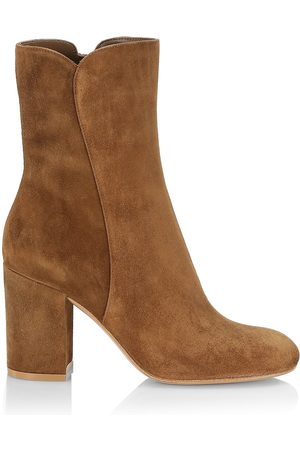 Gianvito Rossi Women's Camoscio Suede Ankle Boots - Texas - Size 12