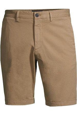 THEORY Men's Zaine Stretch-Cotton Shorts - Bark - Size 34