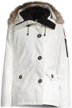Canada Goose Women's Montebello Fur-Trim Down Parka - North Star - Size Small