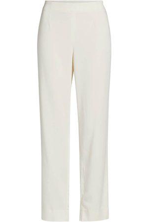 NIC+ZOE Women's Sleek Stretch Pants - Alabaster - Size 6
