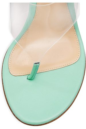 Gianvito Rossi Women's Ankle-Wrap Thong Sandals - - Size 11