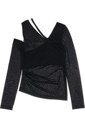 Helmut Lang Women's Asymmetric Jersey Top - - Size XS