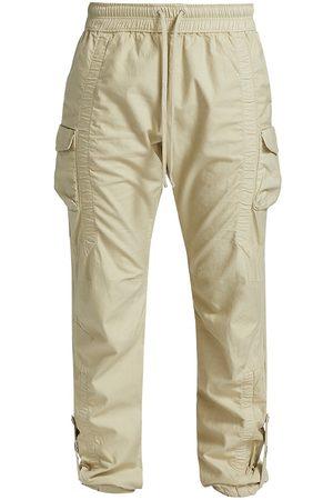 JOHN ELLIOTT Men's Cotton Poplin Frame Cargo Pants - Desert - Size 2