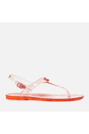 Coach Women's Natalee Rubber Jelly Toe Post Sandals