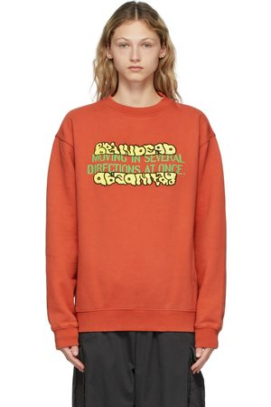 Brain Dead Orange Movement Sweatshirt