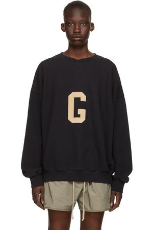 FEAR OF GOD Women Sweatshirts - Black 'G' Sweatshirt
