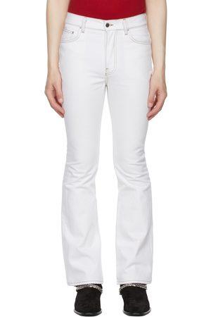 AMIRI Men Jeans - White Flare Leg Jeans