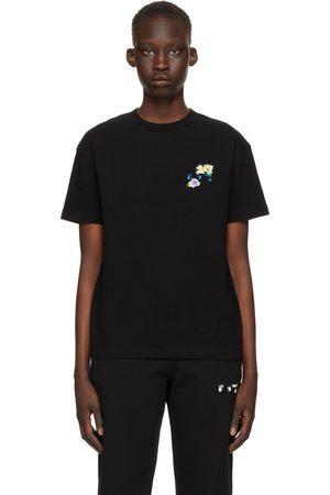 OFF-WHITE Black Check Arrows Regular T-Shirt