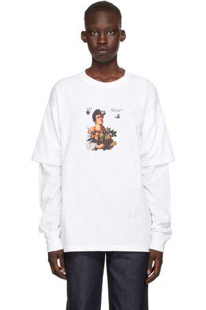 OFF-WHITE White Caravaggio Boy Long Sleeve T-Shirt