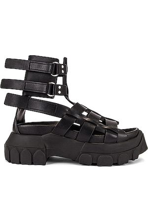 Rick Owens Women Sandals - Hiking Tractor Sandal in
