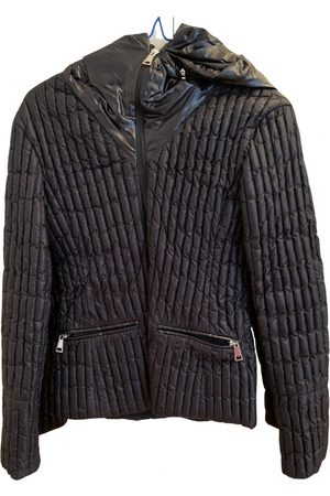 Moncler Hood Leather Jacket for Women