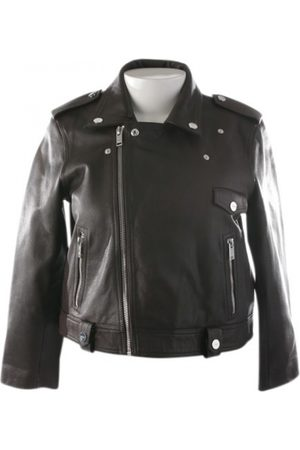 Ganni \N Leather Leather Jacket for Women