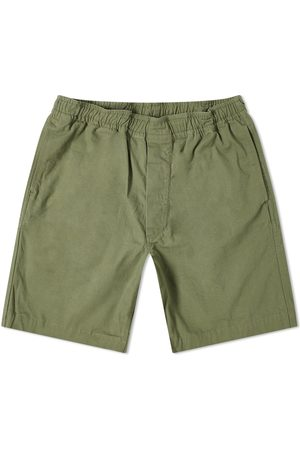 MHL by Margaret Howell Men Shorts - Mhl Pull Up Shorts