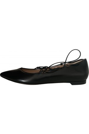 Gianvito Rossi \N Leather Ballet flats for Women