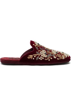 Dolce & Gabbana Men Slippers - Bead-embroidered slippers