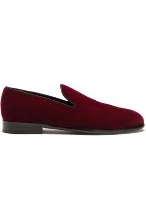 Dolce & Gabbana Velvet-effect slippers