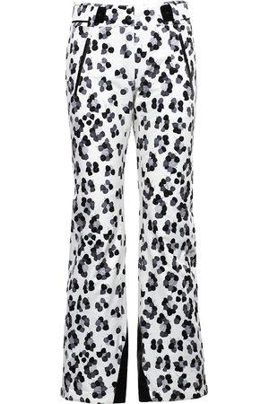 Aztech Women Ski Suits - Team Aztech leopard-print pants
