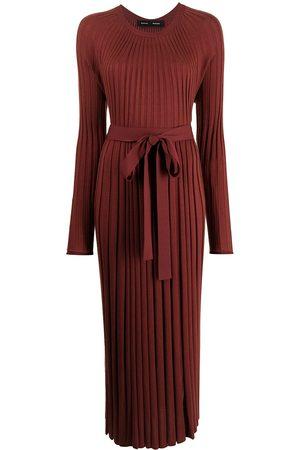 Proenza Schouler Long-sleeve pleated dress