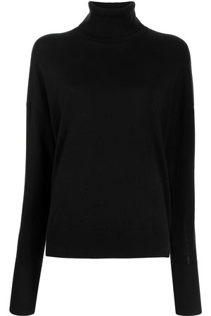 Proenza Schouler Drop-shoulder roll-neck jumper