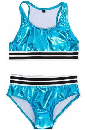 Le pandorine Girls Bikinis - Metallic two-piece bikini