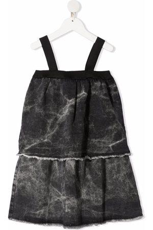Le pandorine Tie-dye shift dress - Grey