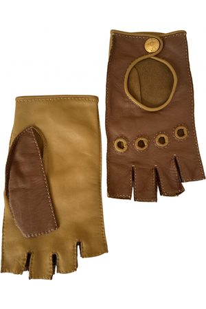 Hermès \N Leather Gloves for Women