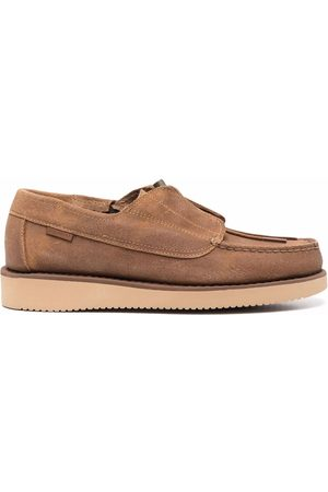 SEBAGO X Engineered Garments Cover Deck lace-up shoes - Neutrals