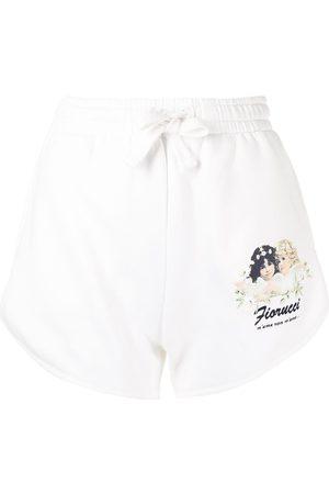 Fiorucci Daisy Angels track shorts