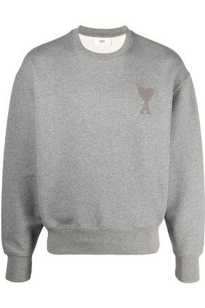 Ami Ami de Coeur logo sweatshirt - Grey