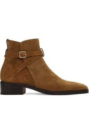 Tom Ford 40mm Rochester Suede Ankle Boots