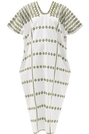 PIPPA HOLT No.256 Embroidered Cotton Kaftan - Womens - Multi