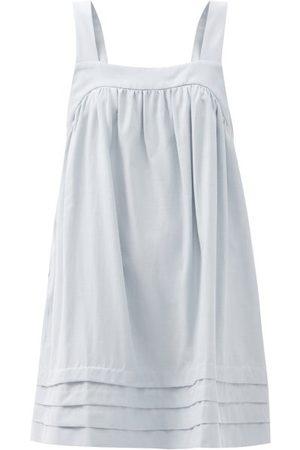 Casa Raki Sandra Square-neck Mini Dress - Womens - Light