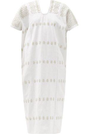 PIPPA HOLT Women Beach Dresses - No.288 Embroidered Cotton Kaftan - Womens
