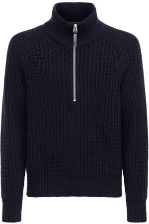 Tom Ford Men Turtlenecks - Cashmere Wool Knit Turtleneck Sweater
